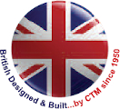 British designed and built by CTM since 1950